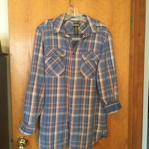 Rare Ralph Lauren Rugby plaid shirt